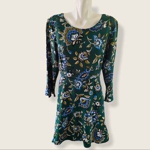 Old Navy Long Sleeve A-line Woven Floral Dress